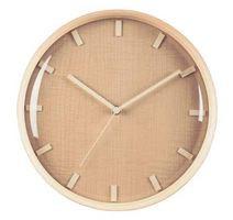 【送料無料】ナチュラルカラーのウッド枠の壁掛け時計★ウォールクロック