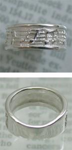 シルバー925 音符メロディアスシルバーリング 7〜13号 /レディース/シルバーアクセサリー/指輪