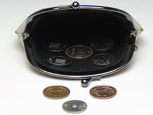 和柄がま口財布大 小銭入れ コインケース メンズレディース 日本製 和風おしゃれカジュアル かわいい 大きいサイズ便利 小物入れ(色K032)