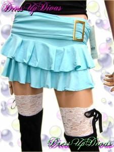 Diva倖田來未サン着用パンツ内蔵ゴールドバックルヒラミニスカート