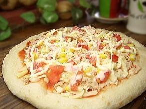 ピザ★ツナマヨPIZZA(20cm)★本格ピッツァ/チーズ/手作り/冷凍ピザ/PIZZA/通販/お惣菜/ギフト