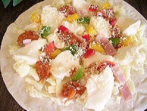 モッツァレラとミートソースのPIZZA(ピザ)★本格ピッツァ/チーズ/パーティー/お惣菜/ギフト
