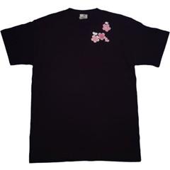 和柄むかしむかしTシャツ 弁財天