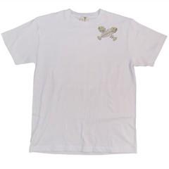 和柄むかしむかしTシャツ  猫又VS大鯰