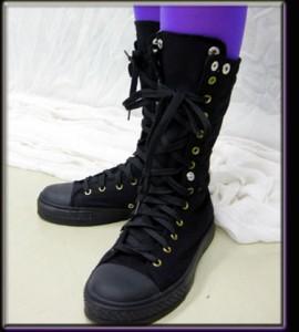 激安 編み上げ スニーカーブーツ ショート ダンスブーツ ミドル丈ブーツ レトロ ブーツスニーカー ショートブーツ 衣装 嵐 マツジュン