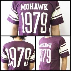 オールドスクール フットボールTシャツ (OLD SCHOOL FOOT BALL Tee MOHAWK 1979)