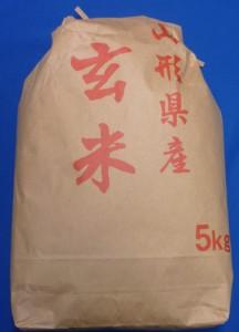 28年産山形県産はえぬき玄米5kg