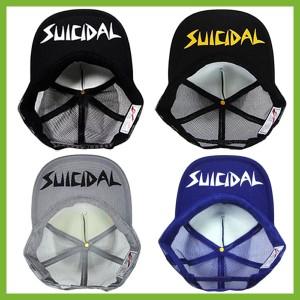 爆発的人気!ランキング入賞! 20カラー スーサイダルテンデンシーズ メッシュキャップ SUICIDAL TENDENCIES 黒帽子 スケーターに!