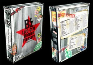 ◆10%OFF+送料無料☆B'z 3DVD【B'z LIVE-GYM Hidden Pleasure 〜Typhoon No.20〜】