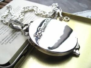 送料無料■最強アクセ!!■鏡ミラースカルレディー■本物SVシルバー925/PD