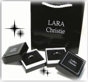 ペアネックレス シルバー セット シンプル人気ブランド LARA Christie 2連サークルリング P3117/12,312円