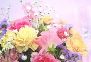 1月誕生花★カラフルアレンジ3,500円【送料無料】ネット特価!!