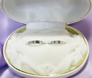 結婚指輪:ペアリング 0.1ctダイヤモンド入り(無し) マリッジリング:文字入れ無料ケース無料