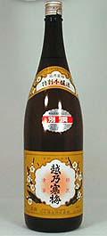石本酒造 別撰 越乃寒梅 特別本醸造 1800ml