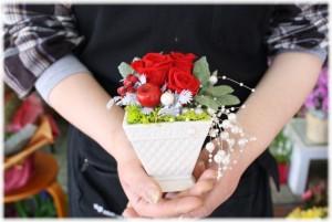 【今だけ!送料無料】3,500円!花風水プリザ★【色が選べる】 ネット特価!