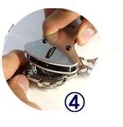 電池交換に!防水時計用*3点支持オープナー*時計用工具