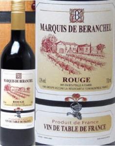 マルキ・ドゥ・ベランシェル  (フランス)赤ワイン  750ml