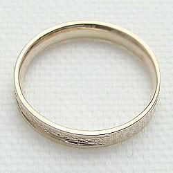 メンズリング イエローゴールドK18 指輪 18金 ピンキーリング