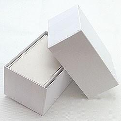 ペアリングケース【ホワイト】記念のジュエリーケース 化粧箱付き