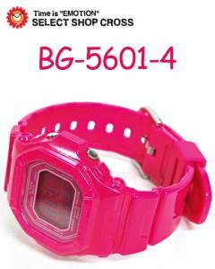 カシオ CASIO ベビーG Baby-G レディース 腕時計 BG-5601-4 ピンク
