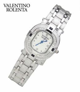 バレンチノロレンタ VALENTINO ROLENTA 腕時計 メンズウォッチ 天然サファイア オーバルタイプ VR110-SM