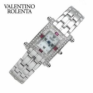 バレンチノロレンタ VALENTINO ROLENTA 腕時計 レディースウォッチ 天然ルビー スクウェアタイプ VR112-RL リストウォッチ
