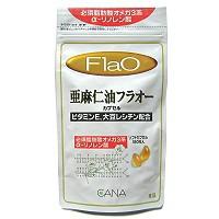 亜麻仁油フラオー 180粒 【オメガ3系脂肪酸/フラックスシードオイル】