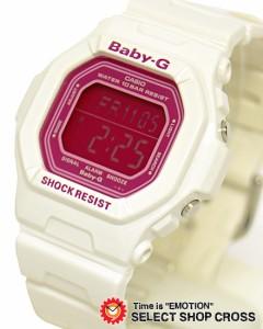 カシオ CASIO ベビーG Baby-G レディース 腕時計 BG-5601-7 ホワイト×ピンク