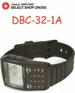 カシオ 腕時計 データバンク DBC32-1A ブラック