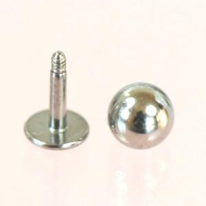 メール便送料無料/MINI ラブレット ボール スタッド 18GA(1mm)サージカルステンレス316L【ボディーピアス】 18ゲージ(1ミリ)ゲリラ ┃