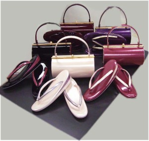 すぐ使える♪お仕立上がり正絹振袖ぜ〜んぶ揃った豪華フルセット紫地藤紫ボカシ桜