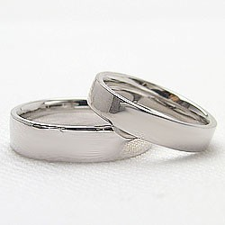 ホワイトゴールドK10 マリッジリング ペアリング 結婚指輪 ブライダルジュエリー 誕生日