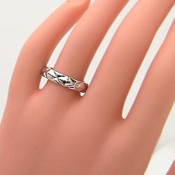 ペアリング 結婚指輪 マリッジリング ピンクゴールドK18 ホワイトゴールドK18 キルティング 指輪 2本セット 送料無料