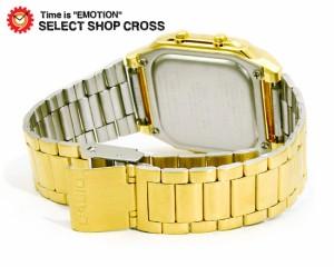 カシオ CASIO メンズ 腕時計 データバンク 海外モデル DB-360G-9ADF ゴールド 金