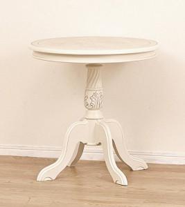 【送料無料!ポイント5%】お部屋のインテリアに!クラシックなアンティーク調♪『コモ テーブル』2色