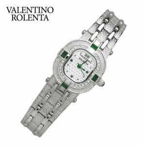 バレンチノロレンタ 腕時計 レディースウォッチ VALENTINO ROLENTA 天然エメラルド オーバルタイプ VR110-EL