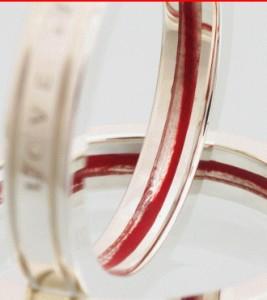 ペアリング カップル お揃い シルバー 送料無料 LOVE of DESTINY運命の赤い糸LOD-007/20,736 円