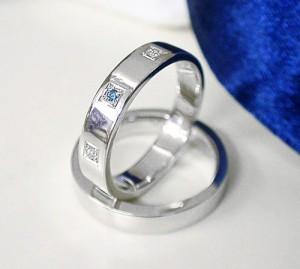 高品質【ペアリング・結婚指輪】プラチナ Pt900 ダイヤモンド マリッジ 1005:文字入れ無料/ケース付/送料無料