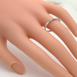 結婚指輪 プラチナ ペアリング マリッジリング 2本セット Pt900 送料無料