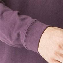こだわりのリブ付き 6.2オンス長袖Tシャツ/リブ(アダルトサイズ)/ユナイテッドアスレ UNITED ATHLE #5913-01 無地 kct lst-c