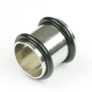 【メール便 送料無料】ボディピアス チューブ 5/32inch(12mm) サージカルステンレス ボディーピアス ┃