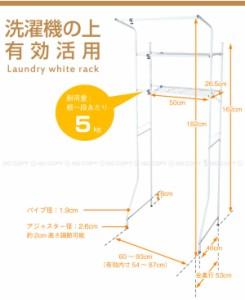 ランドリーホワイトラック[L-2][HE]【西B】