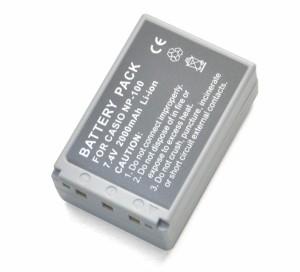 CASIO/カシオ NP-100 互換バッテリー *デジカメバッテリー