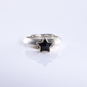 【送料無料】 King Limo キングリモ ONE STAR RING ワンスターリング [KLR39BCZ] シルバー リング メンズ レディース