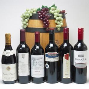第33弾!送料無料★高品質ワイン(赤6本)で送料込み750ml×6本