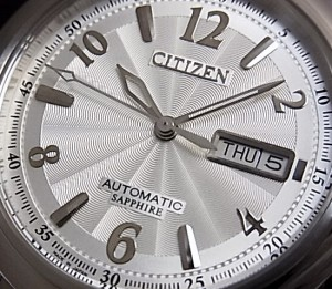 【CITIZEN/シチズン】自動巻 メンズ腕時計 シルバー文字盤 メタルベルト NH8310-53A MADE IN JAPAN 海外モデル