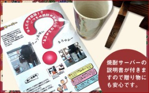 焼酎サーバー豪華セット(麦焼酎黒麹閻魔・ 閻魔 720ml×2本)【送料無料】