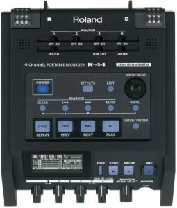 ROLAND ローランド 4チャンネル・ポータブル・レコーダー R-44-R【送料無料】