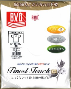 BVD GOLD-EX U首半袖Tシャツ S〜L