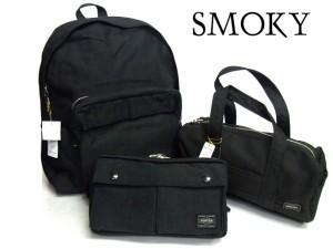 ポーター 吉田カバン SMOKY スモーキー トートバッグ(L) 592-06576 ブラック 送料無料